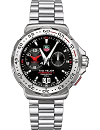 TAG Heuer Men's THWAH111CBA0850 Formula 1 Indy 500 Black Dial Watch