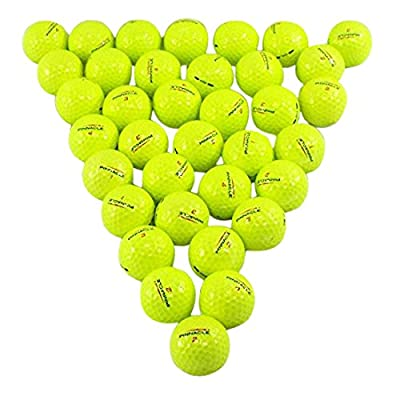 Pinnacle Yellow 36 Pack Golf Balls Mint Condition ()