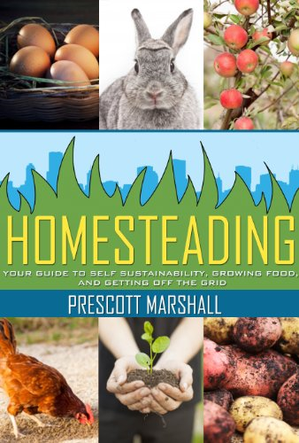 Homesteading: Your Guide to Self Sustainability, Growing Food, and Getting Off the Grid (Homesteading Basics - An Essential Guide to Creating Your Own Homestead for Sustainability and Self Reliance) by [Marshall, Prescott]