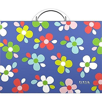 Grafoplas Elena Corredoira - Maletín, diseño de flores