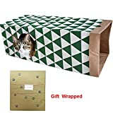 PetJollies Cat Paper Bag Tunnel Toy by Cat Activity Play Bag - Fun...