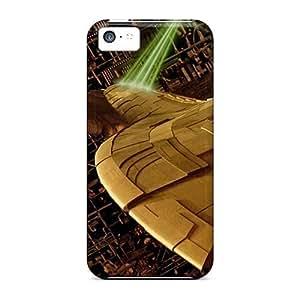 DCX2921jfFB Star Trek The Borg Fashion Tpu 5c Case Cover For Iphone