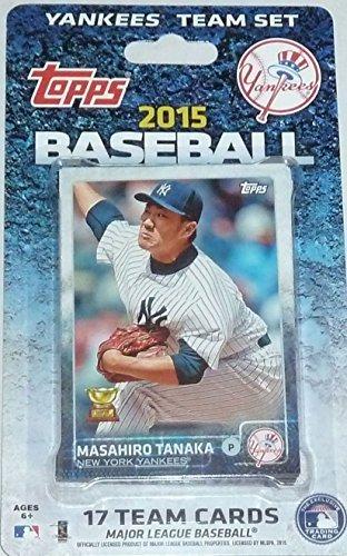 2015 Topps New York Yankees Baseball Team Set