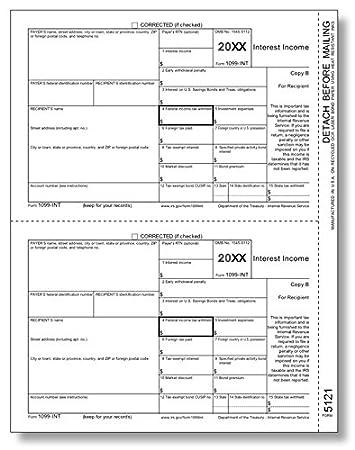 amazon irs承認1099 intコピーb税金フォーム 100フォーム 帳簿