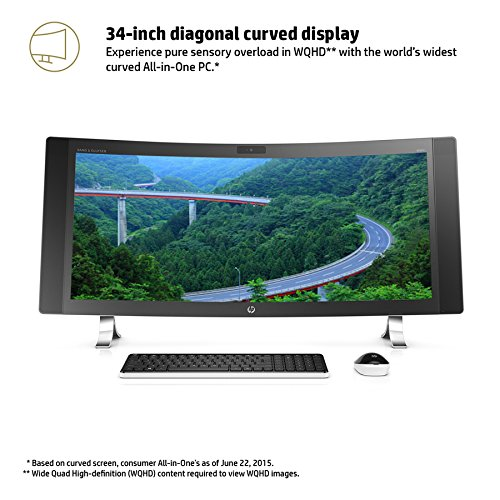 34 Reviews: HP Envy 34-a010 34-Inch All-in-One Desktop (Intel Core I5