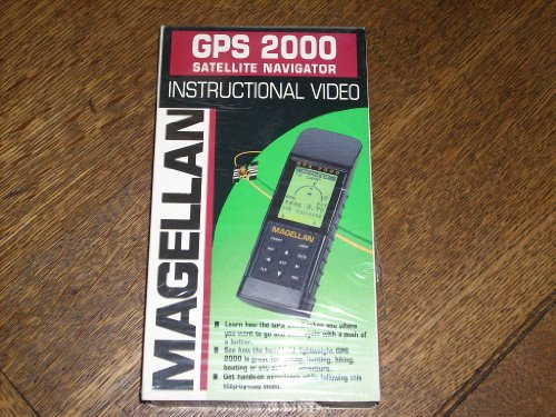 (Magellan GPS 2000 Satellite Navigator Instructional Video (VHS Videocassette). Magellan Part Number 00-69011-000 in original slipcase)