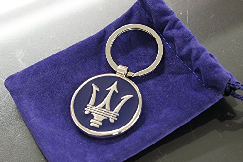 Authentic Maserati Blue Corporate Key Ring Key Chain 2018276