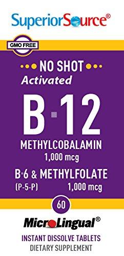 Superior Source Methylcobalamin Pyridoxal 5 phosphate Methylfolate product image