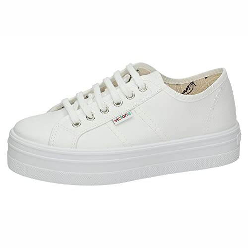 VICTORIA 09200 Zapatillas VICTORIA Mujer Zapatillas Blanco 41: Amazon.es: Zapatos y complementos