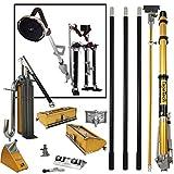 TapeTech Full Set of Drywall Taping and Finishing Tools w/Bonus STILTS & 9' Disc POWER SANDER