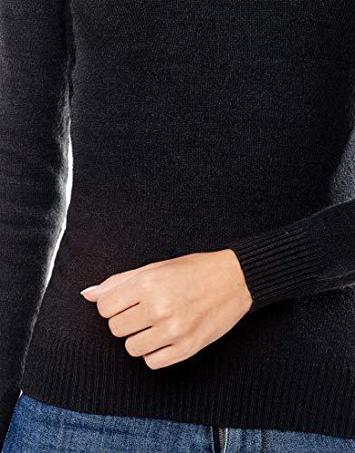 scollo antracite costine pullover Boretti 2 con V a Vincenzo a qftazcw