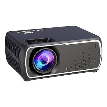 DYG Mini proyector portátil, inalámbrico con Pantalla HD 1080P 110 ...