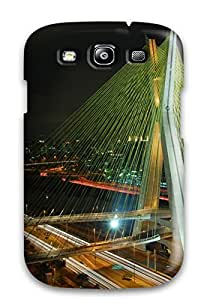 CaseyKBrown Design High Quality Octavio Frias De Oliveira Bridge Cover Case With Excellent Style For Galaxy S3
