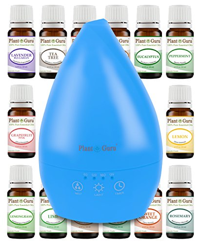 Plant Guru Essential Oil Ultrasonic Diffuser White 200 ml. W