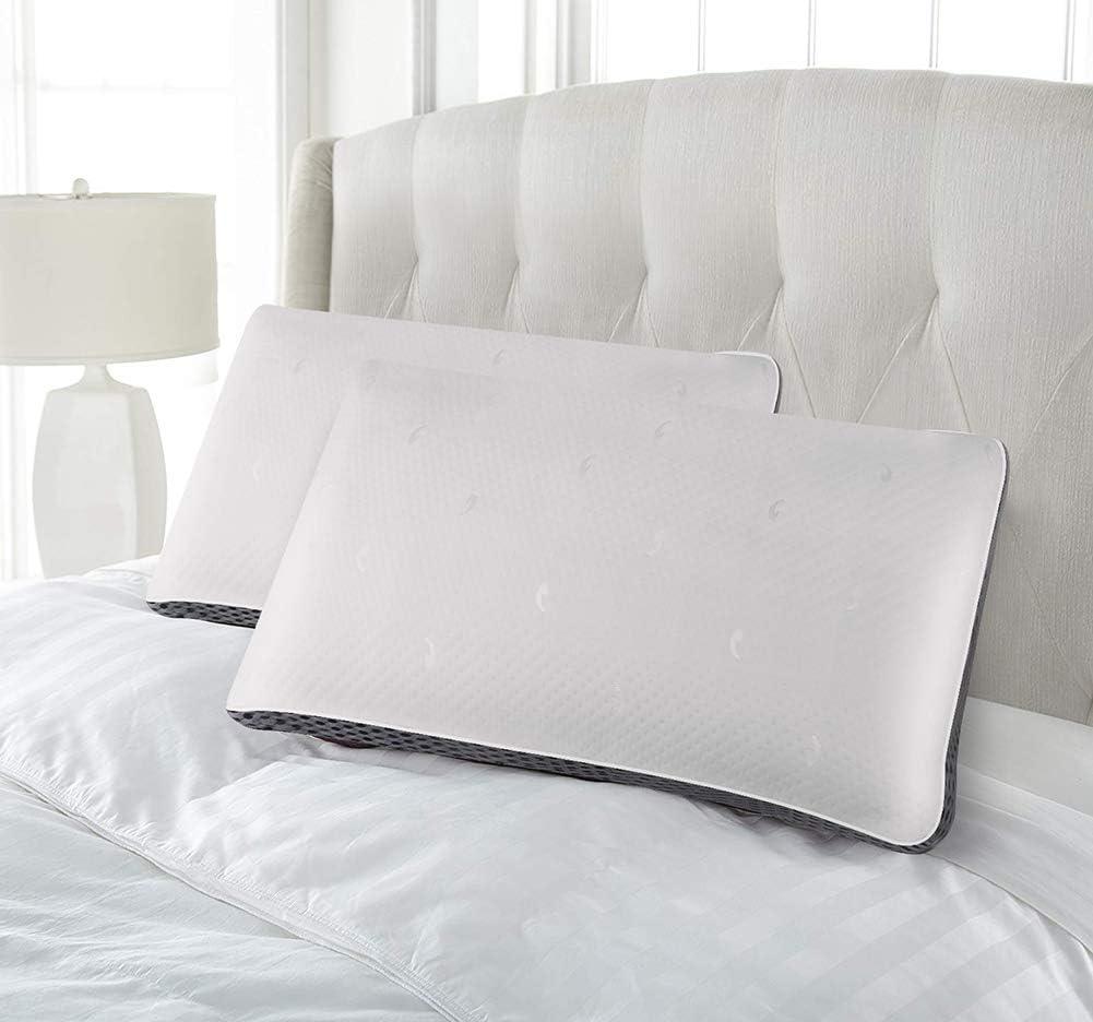 Aimu Lot de 2 oreillers /à ressorts