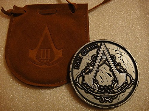 Assassins Creed III 3 Join Or Die Medallion Coin from Limite