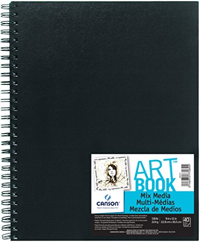 "CANSON Mix Media Art Book, 9""X12"""