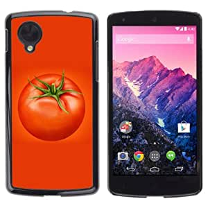 YOYOSHOP [Cool Vegetable Tomato Design] LG Google Nexus 5 Case