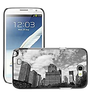 Hot Style Cell Phone PC Hard Case Cover // M00169910 New York City Building Tower // Samsung Galaxy Note 2 II N7100
