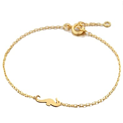super populaire 344e4 1fa48 TATA GISELE Gold-Plated Children's Bracelet with Seahorse ...