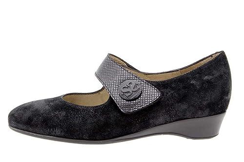393967dabbd48 PieSanto Scarpe Donna Comfort Pelle 9726 Mary Jean Casual Comfort Larghezza  Speciale  Amazon.it  Scarpe e borse