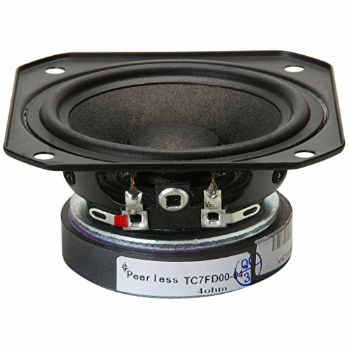 """Peerless by Tymphany TC7FD00-04 2-1/2"""" Full Range Paper Cone Woofer 4 Ohm"""