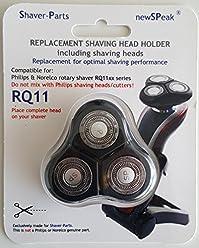 shaver-parts 6669000011testina (con 3Testine di Rasatura), adatto per Philips rasoio senso Touch 2d, RQ11X X Serie