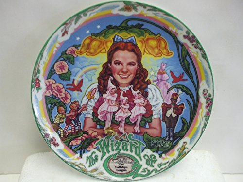 The Wizard of OZ - The Lullaby League - Musical Collector's Plate by Knowles