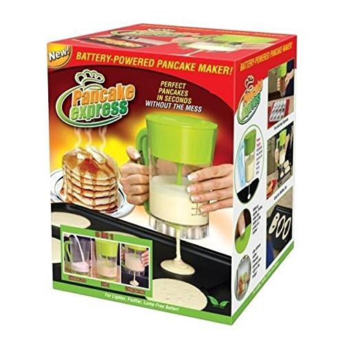 FHSTREET New Pancake Express Maker Batter Mixer Dispenser Baking Tools...
