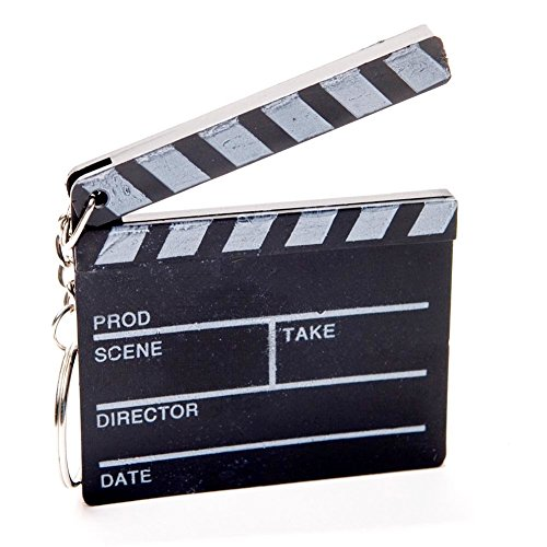 Hollywood Clapboard Key Chains (2 dozen) (Hollywood Theme Party Favors)