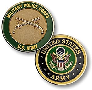 U.S. Army Military Police Corps Challenge Coin from Armed Forces Depot