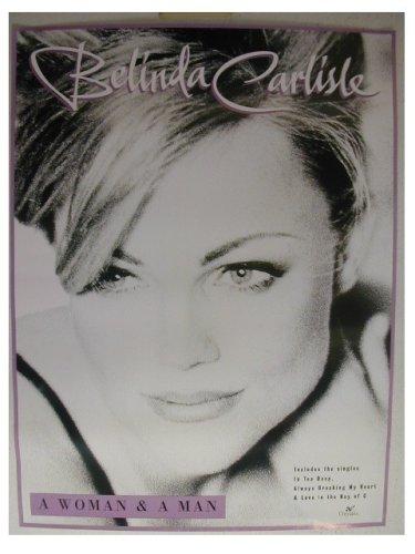 Belinda Carlisle Poster of gogos Go gos go's GOGO's The