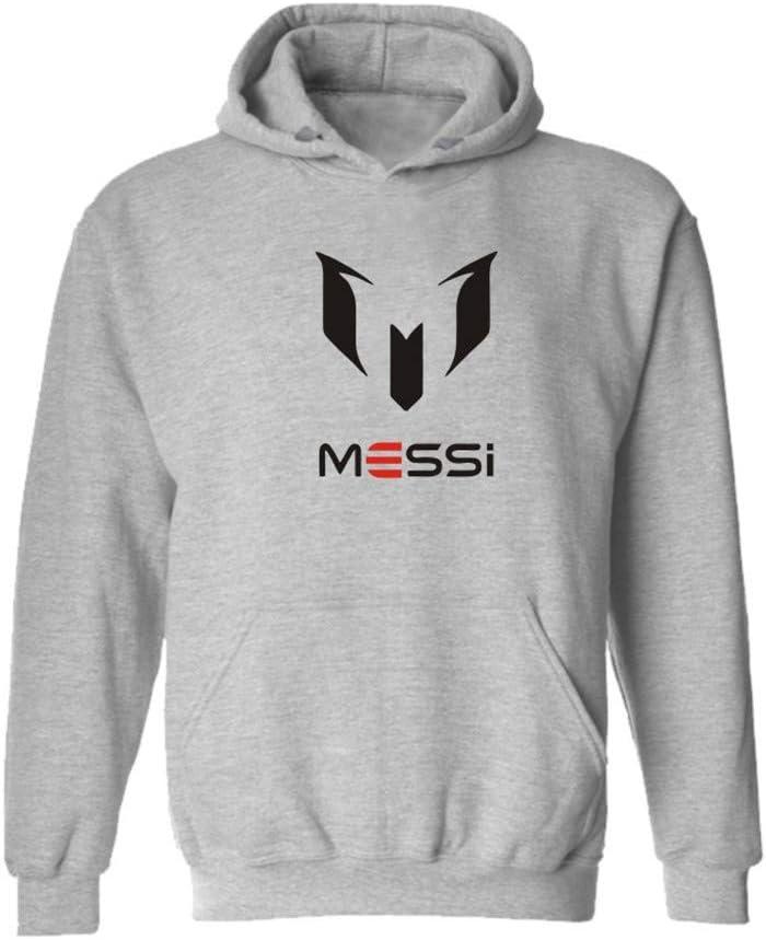 WYNBB Sweatshirt Barcelona Lionel Messi 10 Fan Hoody Geschenk f/ür Fu/ßballfans Liga Ph/änomen Kapit/än Herren