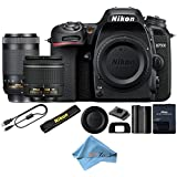 Nikon D7500 20.9 MP DX-format Digital SLR Camera With Built-in WiFi/Bluetooth (Certified Refurbished)(18-55 & 70-300)