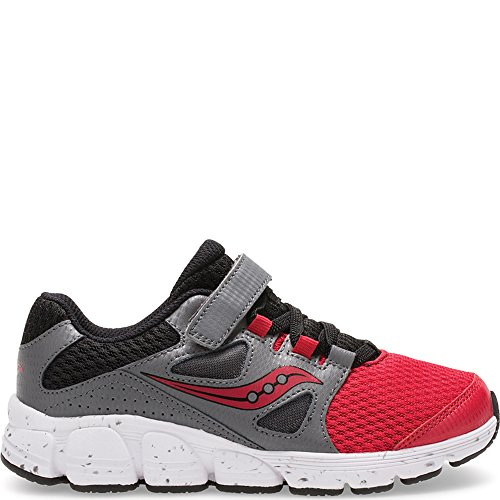 Leather Mesh Sneakers - Saucony Boys Kotaro 4 A/C Sneaker Red, 4.5 M US Big Kid
