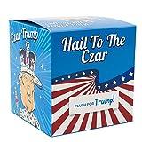 Custom Toilet Paper Donald Trump Toilet Paper / Custom Colorful Gift Box / Funny Trump Caricature In An Emperor Crown and Robe / Single TP Roll / BONUS Trump Sticker