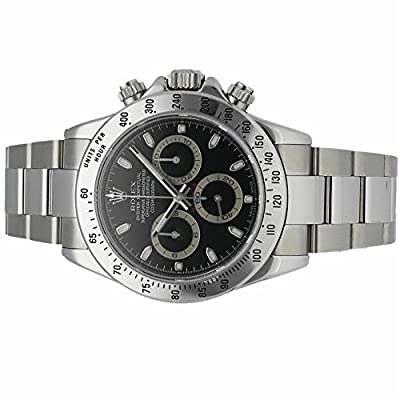Rolex Daytona automatic-self-wind mens Watch 116520 (Certified Pre-owned)