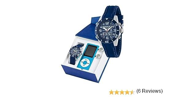 Reloj marea niño b35280/4 analogico digital con reproductor MP4: Amazon.es: Relojes
