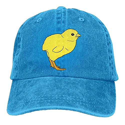 (Personality Caps Hats Sports Denim Cap Baby Chick Women Golf Hats Polo Style Low Profile)
