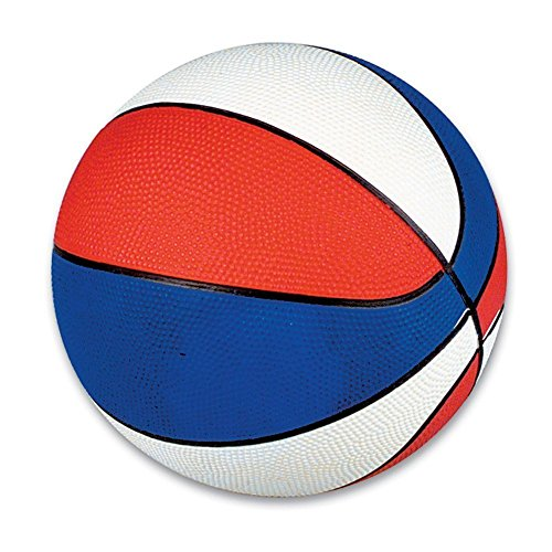 Rhode Island Novelty Red White & Blue Mini Basketballs 5-Pack
