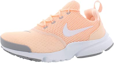 Porque dividendo oler  Amazon.com | Nike Kids Presto Fly (GS) Crimson Tint/White Running Shoe 6  Kids US | Running
