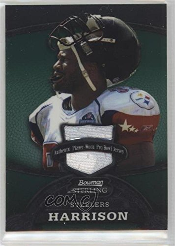 James Harrison #/249 (Football Card) 2008 Bowman Sterling - Jerseys - Green #97