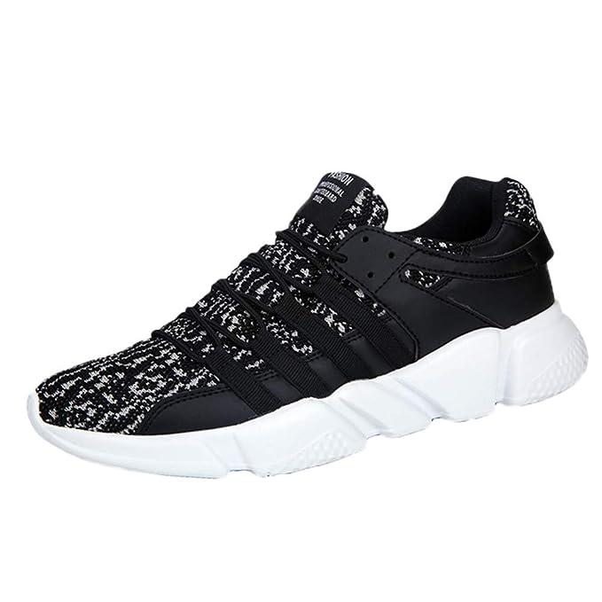 add04b752af3 Amazon.com: TIFENNY Casual Elastic Bottom Soft Shoe Men's Lace-Up ...