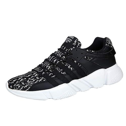 Zapatillas Unisex Adulto Zapatillas Running para Hombre Aire Libre y Deporte Transpirables Casual Zapatos Gimnasio Correr