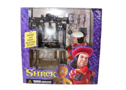SHREK: DULOC DUNGEON with SOUND by McFARLANE (Shrek Ginger Bread Man)