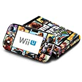 GTA Decorative Decal Cover Skin for Nintendo Wii U Console and GamePad