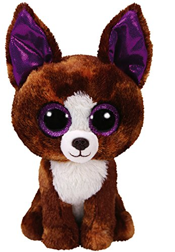 Ty 6' Dexter the Chihuahua Beanie Boos Plush Stuffed Animal w/ Ty Heart Tags 36878