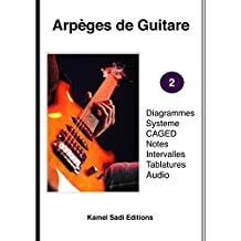 Arpèges de Guitare Vol. 2 (French Edition)