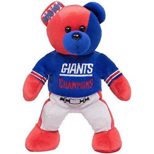 New York Giants Super Bowl Xxi Champions Team Vs Team Thematic Bear
