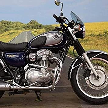 Kawasaki W800 Engine Bars Chrome Amazoncouk Car Motorbike